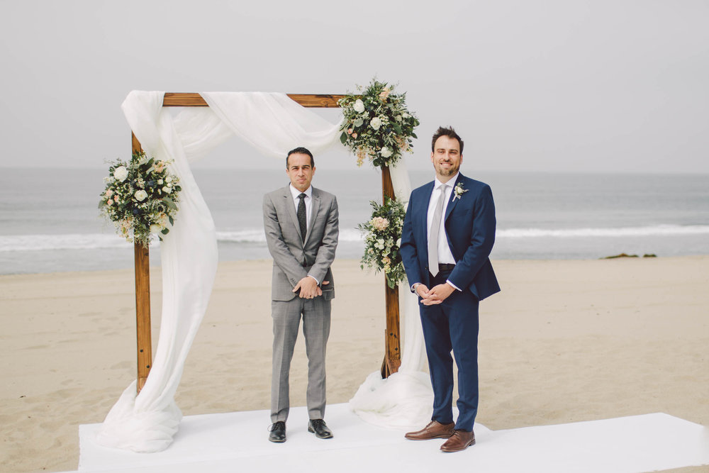 the sunset restaurant malibu wedding elopement