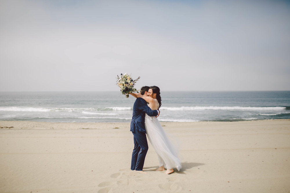 the sunset restaurant malibu wedding elopement photographer