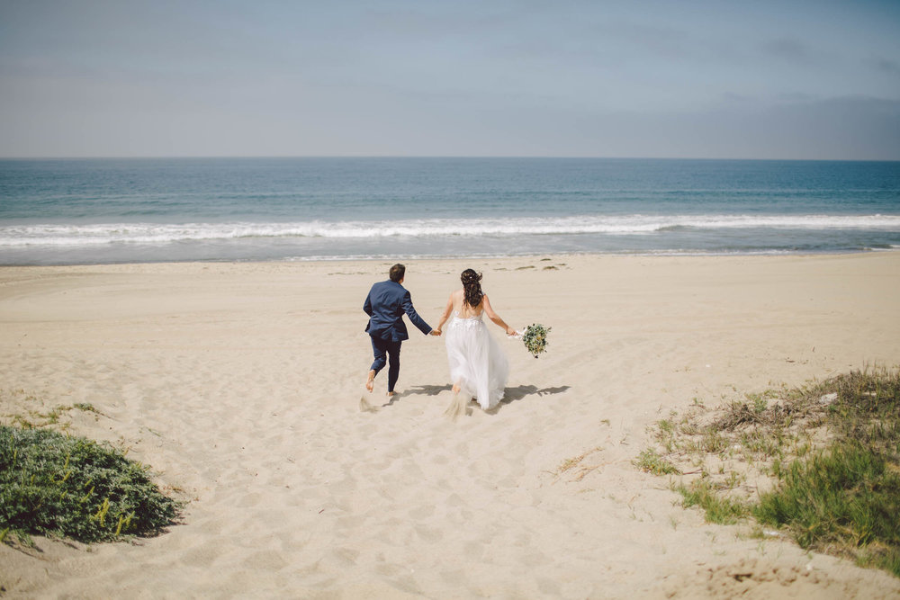 the sunset restaurant malibu boho wedding elopement