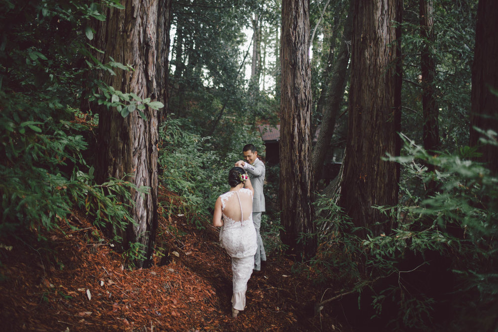 Sequoia Retreat Center, California Wedding   JENNY + JON  View Story