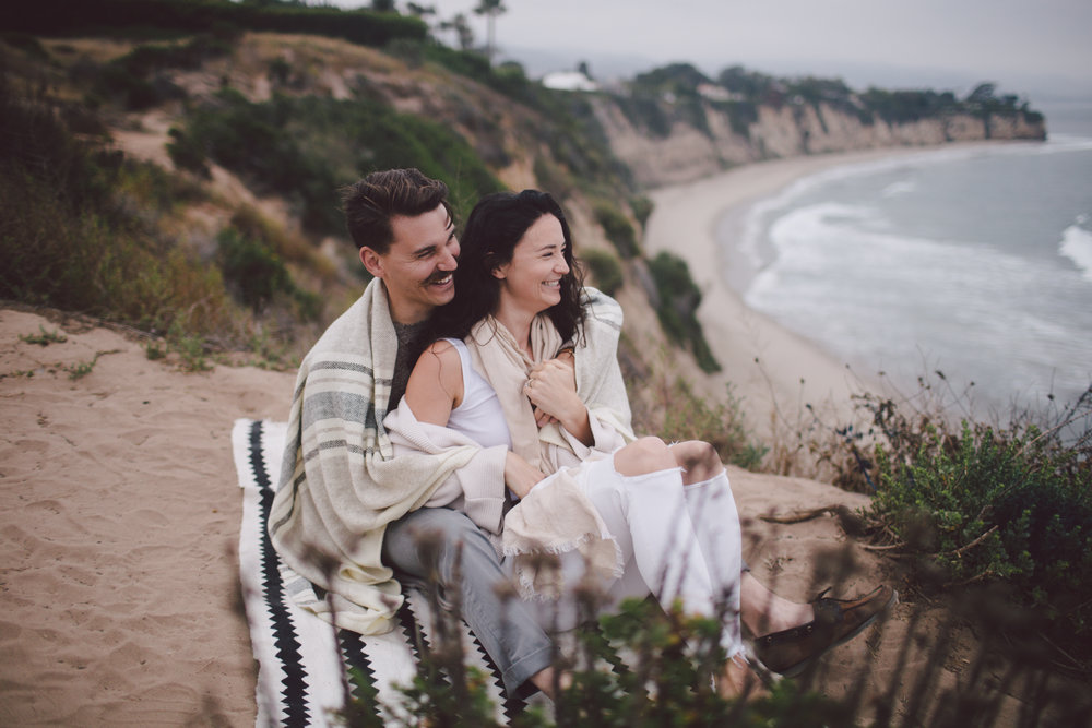 sunrise-point dume-malibu-elopement-engagement-los angeles wedding photographer