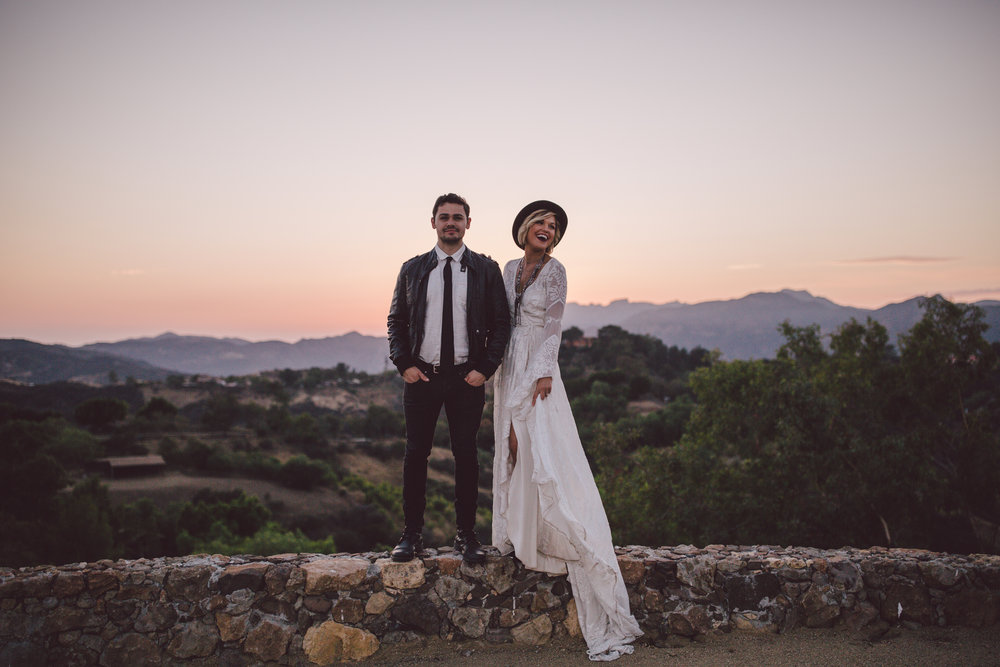 sunset-portraits-stonewall ranch-malibu-california-bohemian