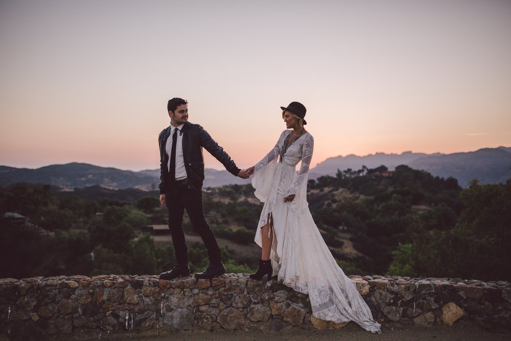 wild-malibu-bohemian-wedding-stonewall ranch