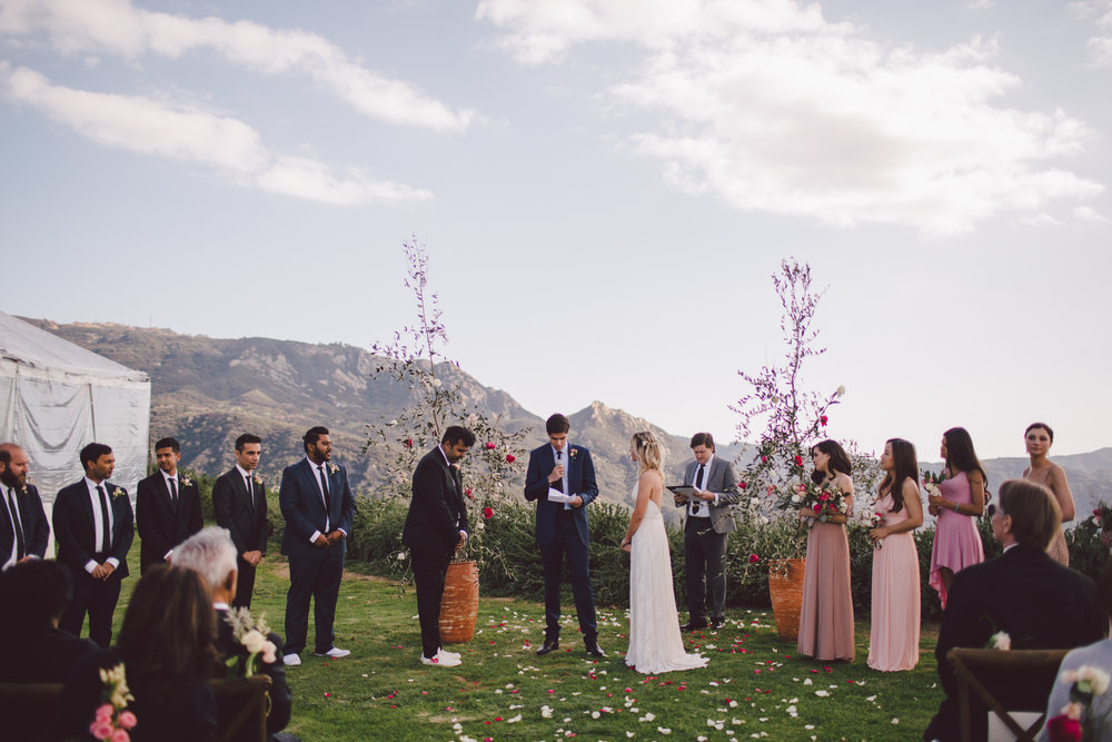 malibu-vows-mountains-wedding-boho