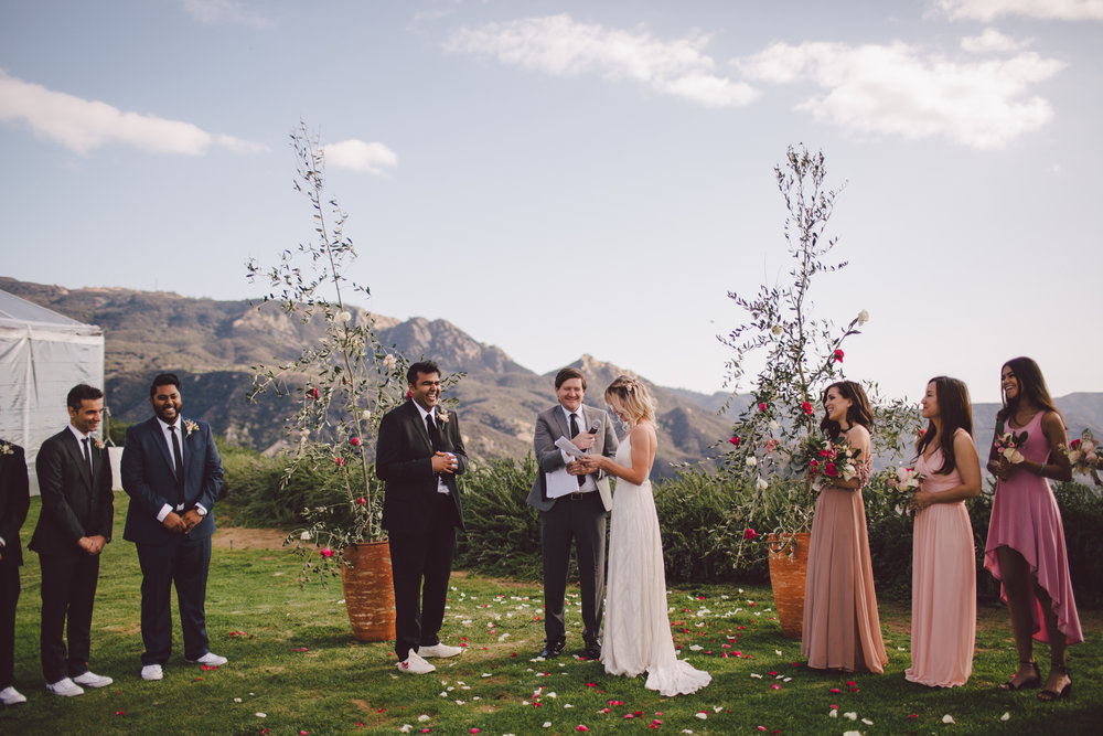 wedding-vows-bohemian-ceremony-malibu-wedding
