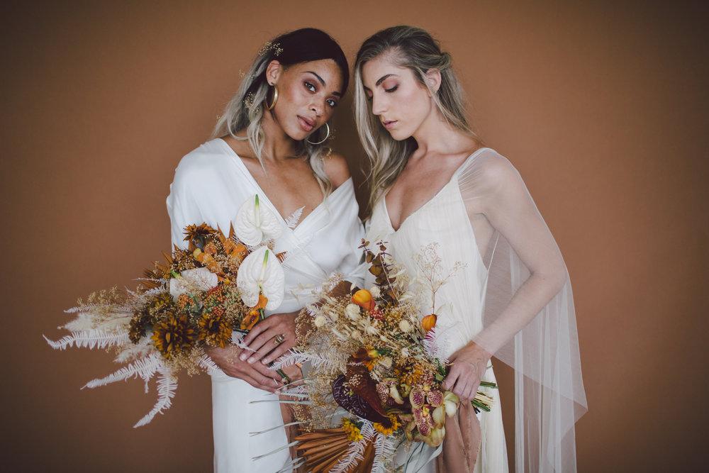 los angeles bridal lookbook loho bride model shoot