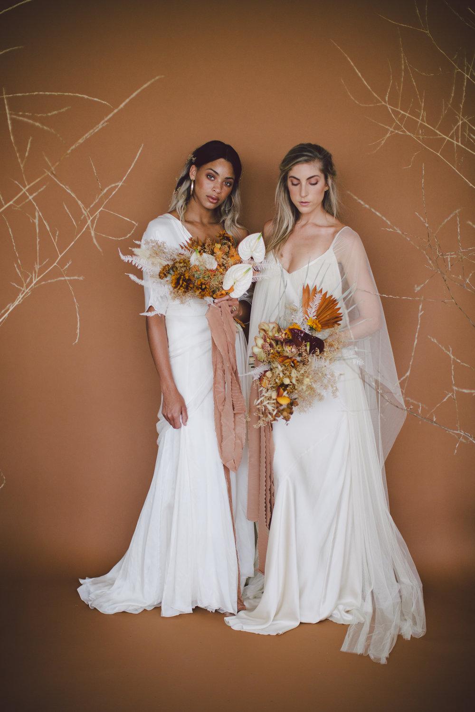conceptual shoot lookbook modern free spirited bride loho