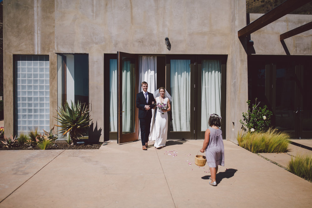 ojai intimate wedding private estate elopement
