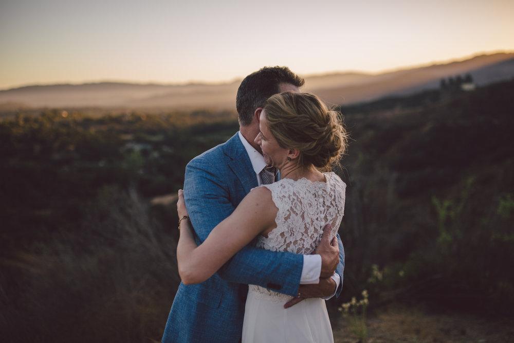 california sunset canyon ojai elopement