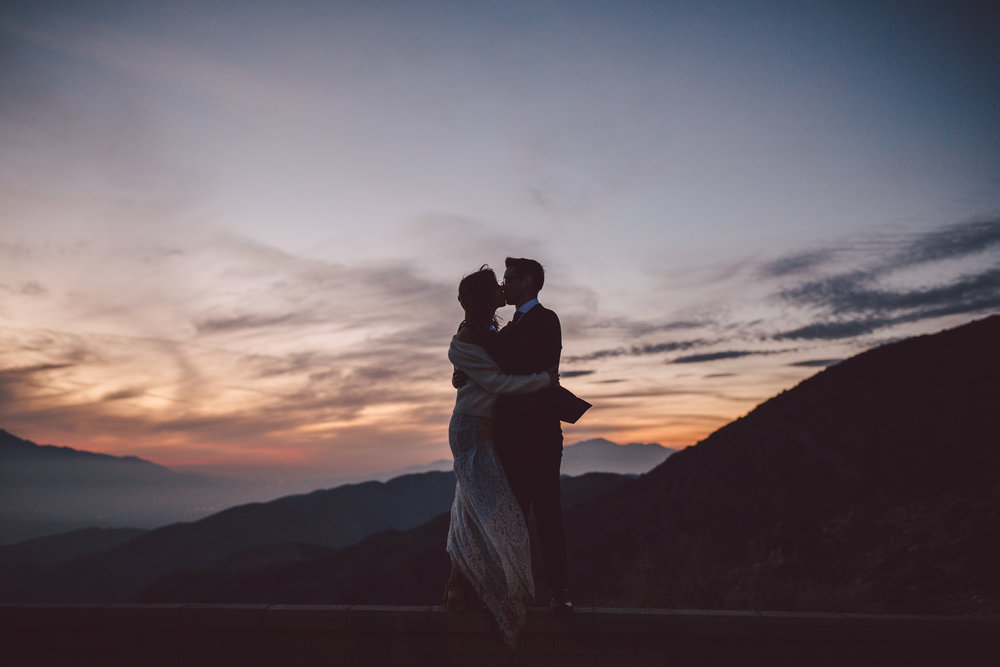 adventure elopement keys view joshua tree intimate wedding bohemian