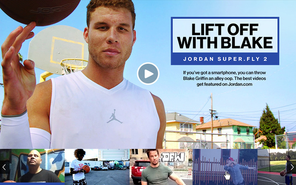 Throw an alley-oop to Blake Griffin with this user-generated mobile campaign.