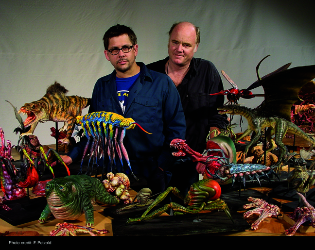 Pete Konig with Phil Tippett