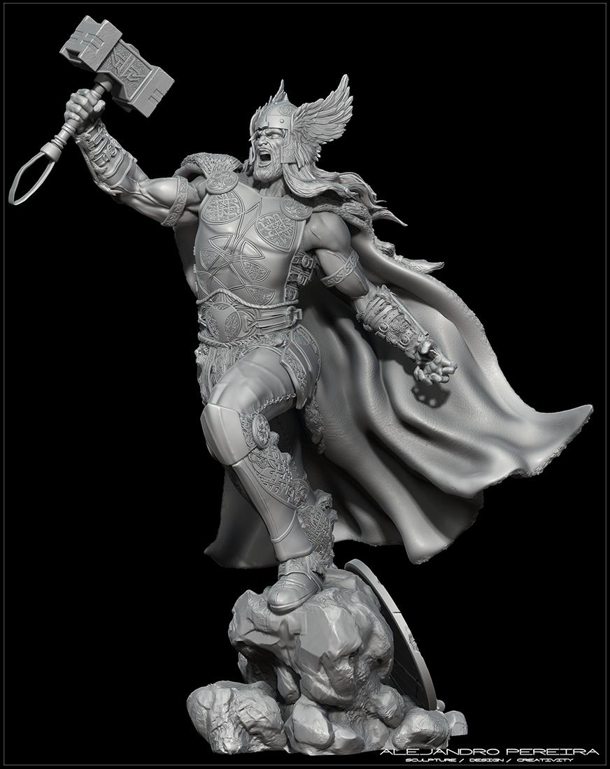 Thor_3Dprint_zbrush