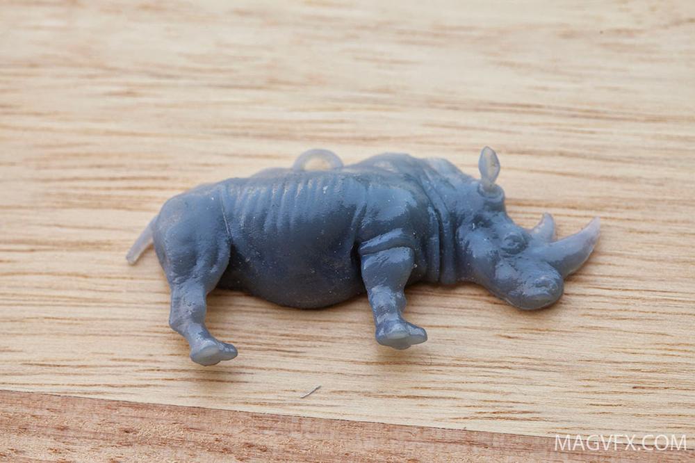 Printed 3D Rhino
