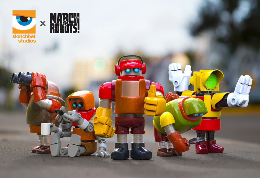 March of Robot Group Pic_3D_Printing