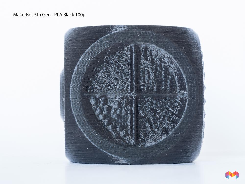 MakeBot Black PLA 100µ