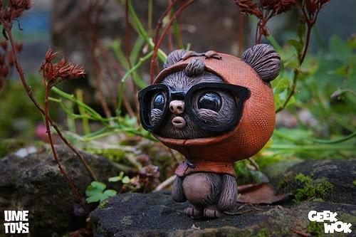 """""""GeekWok"""" Ewok Star Wars Resin Figure by UME Toys.jpg"""