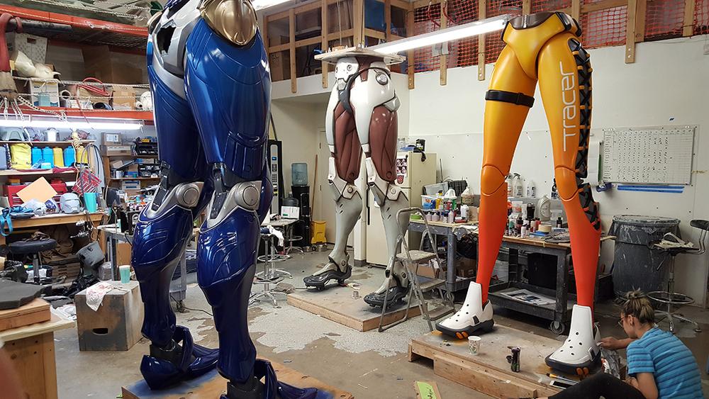 assembling the giants mold3d