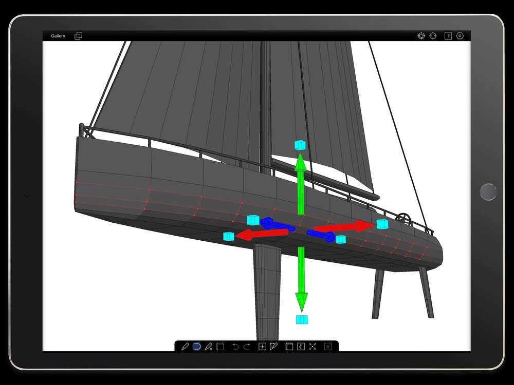 New 3D Modeling Software On Your IPad