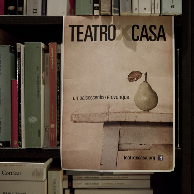 teatroxcasa, Roma. 29 marzo '14