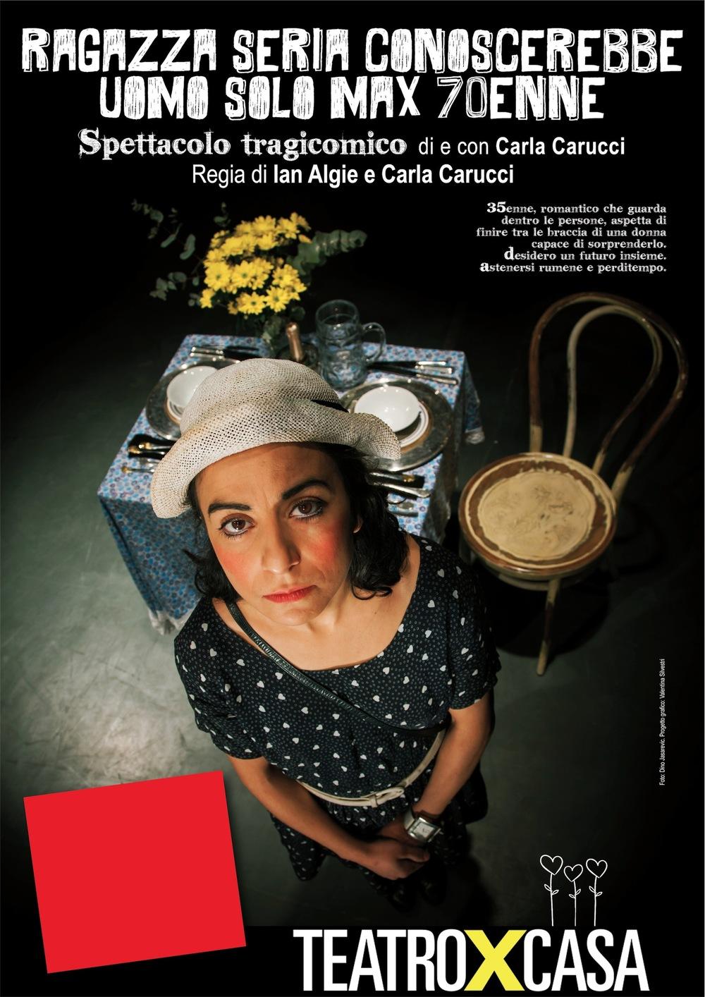 esempio locandina teatroxcasa
