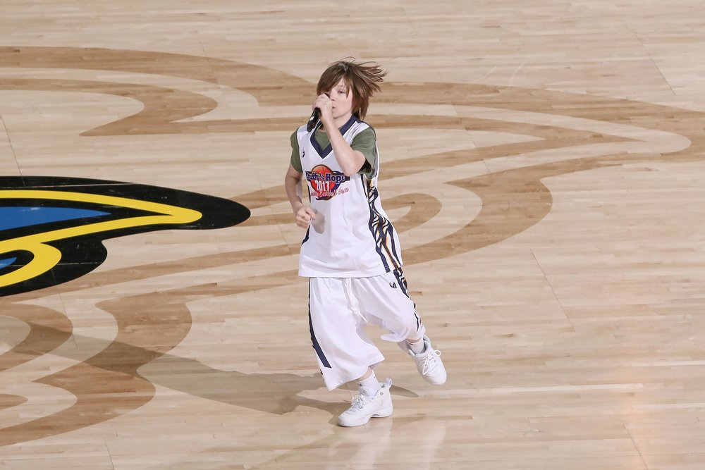 Matt Ox Performing During Halftime