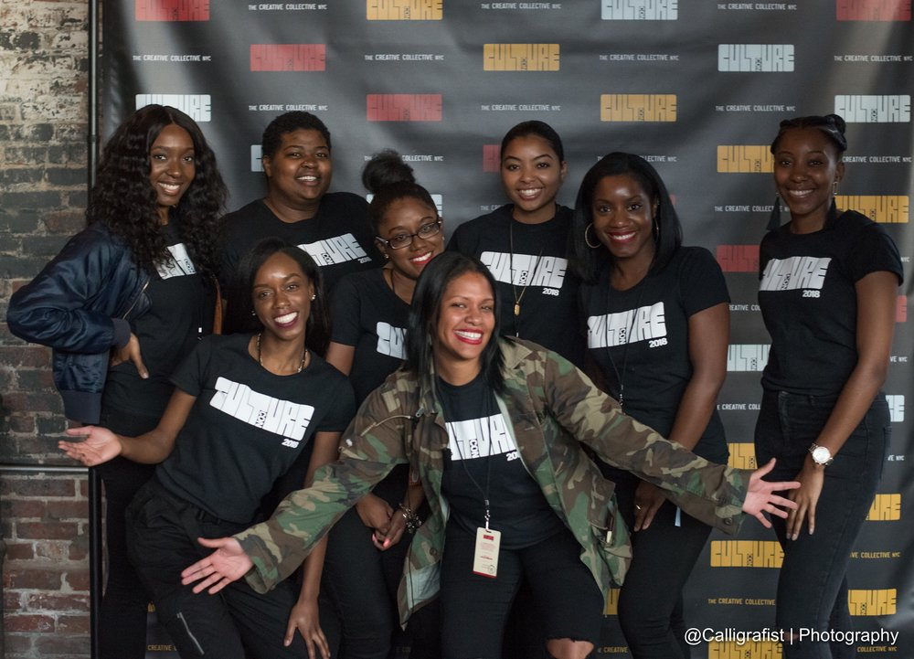 Rebelle Agency Talent team at CultureCon