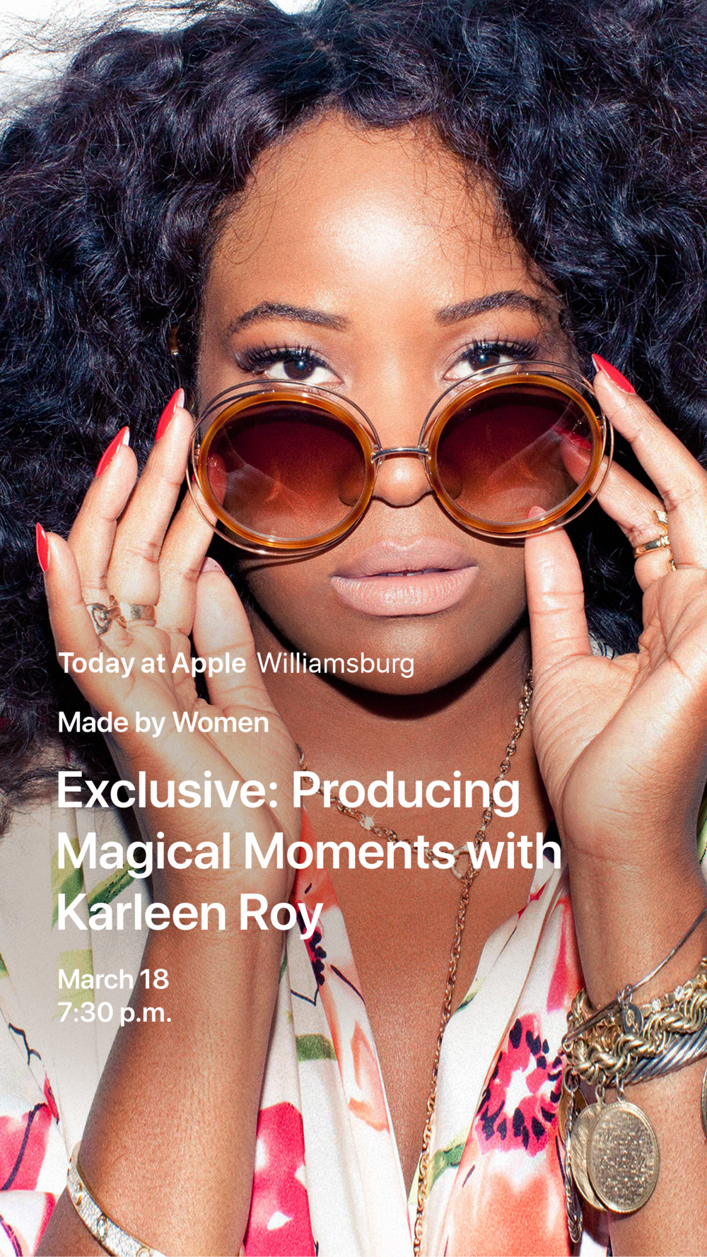 Karleen Roy interviewed by Rebelleion Management client Tracy G. Open for all, RSVP below.