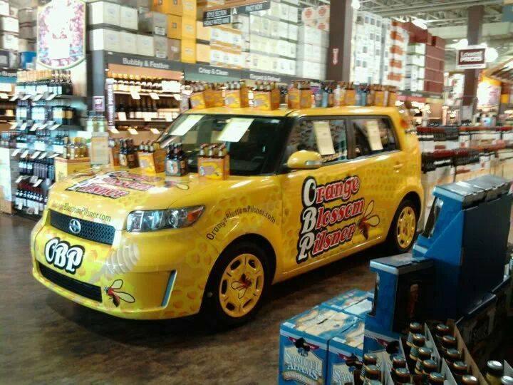 The OBP Keg Car
