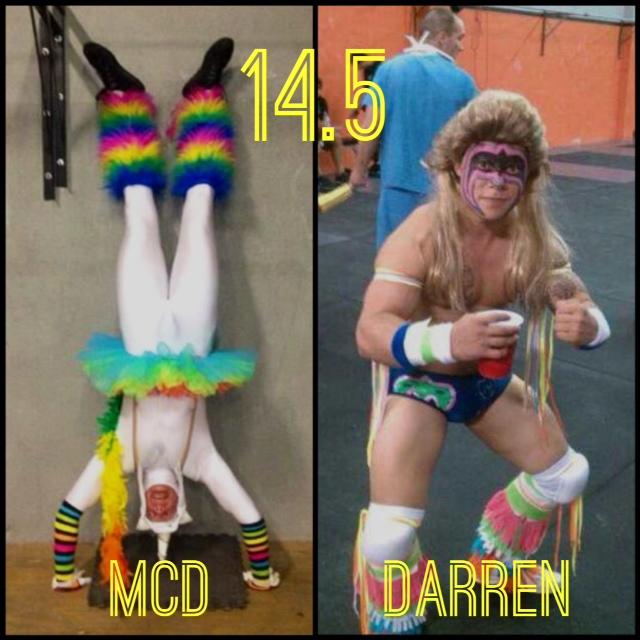 """Chris McDirmit -6'5""""                                Darren Smith - 62 inches"""