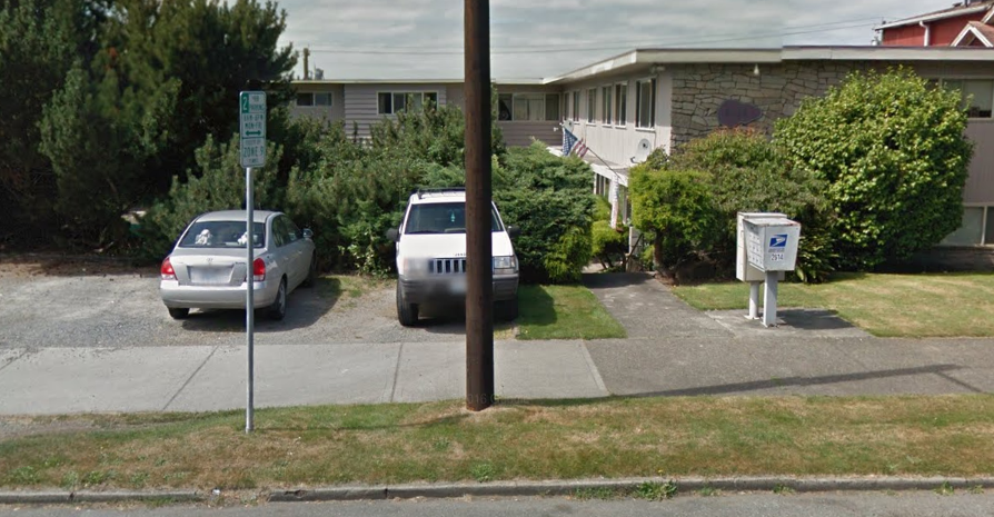 Missing Middle in Everett. SF, Duplexes, and Triplexes, mixed with buildings like these, near Everett and Rucker are affordable, near transit and jobs. Fact: I used to live in this 15-unit building.