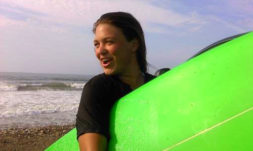 Janie Kinnane - co-owner / operator Grew up on the beach surfing in LC with her Dad and 9 siblings. Spent past summers teaching her 5 little brothers how to surf. Has plenty of experience with children. Loves teaching and sharing the joy of surfing with everyone!