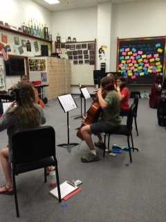 Summer Cello Camp 2014