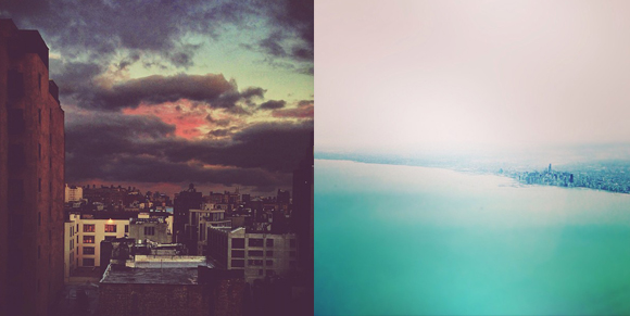 Soho, NYC // Chicago on Lake Michigan (my 2 most 'liked' Instagrams of 2012)