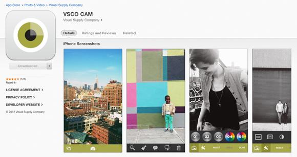 VSCO-app-store