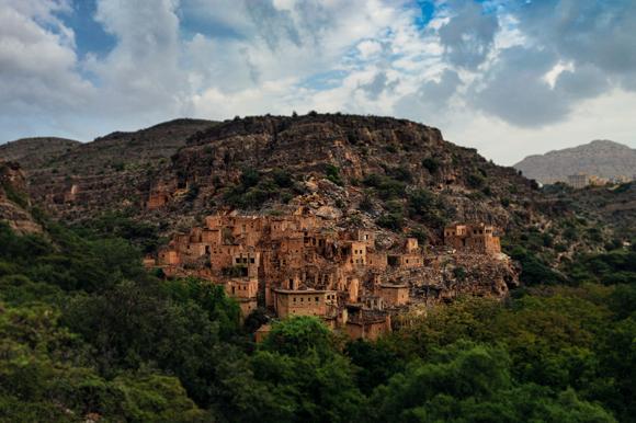Seb Ruins, Ben Habib Wadi, Oman. Oct. 2012.