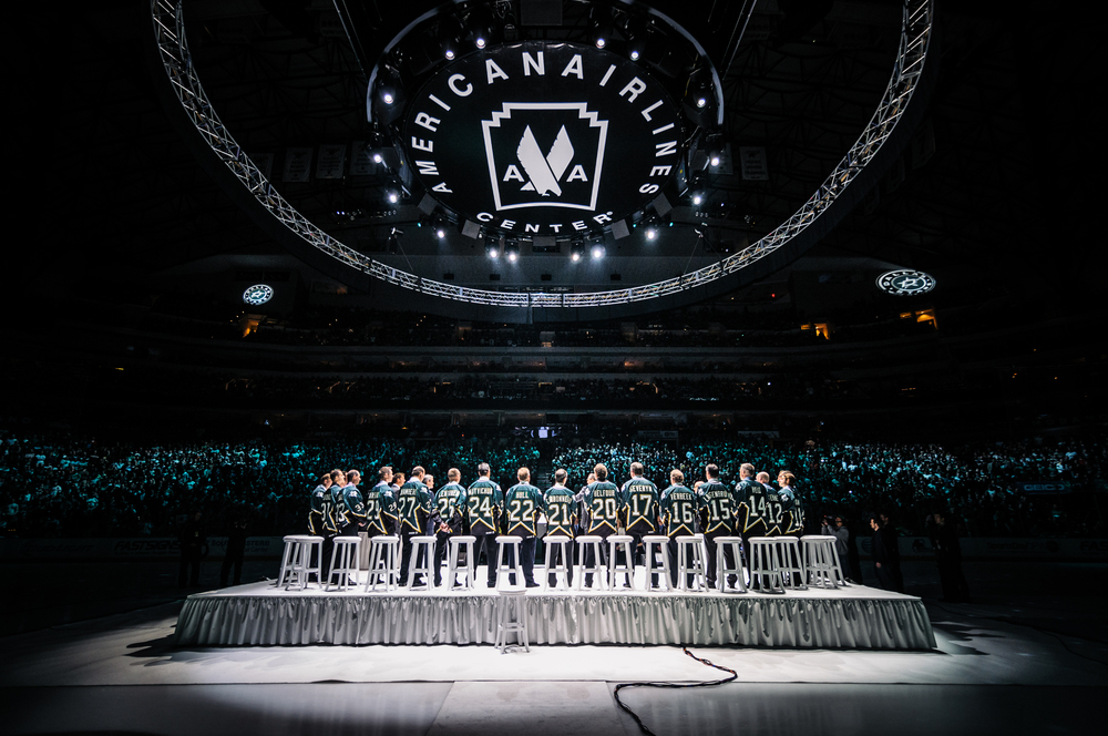 "Of the '99 Stanely Cup winning team, only 3 players were unable to attend, which Modano credited to ""the depth of friendship"" they developed en route to two Stanley Cup Finals appearances."