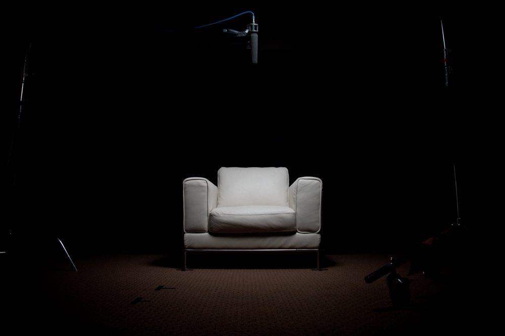 This iconic white chair ha s become the foundation of a storytelling movement that has impacted millions of people in nations around the world.