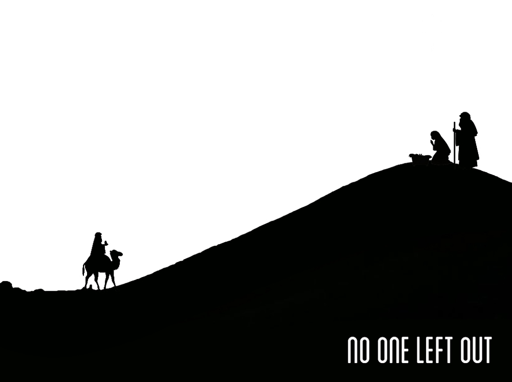 "We are in the middle of a series called ""No One Left Out."" Join us this Sunday at 10AM"