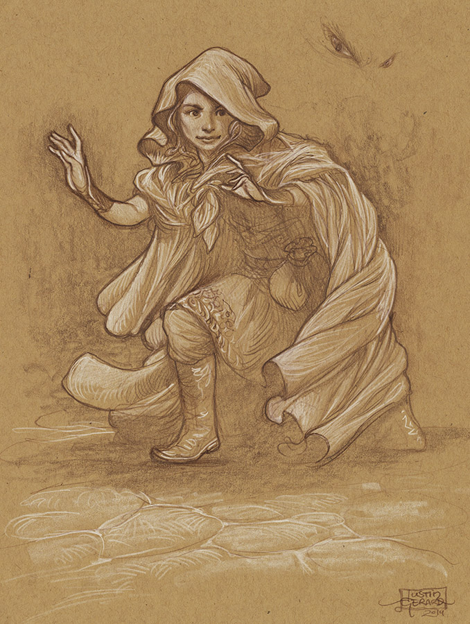 Elf Thief Study No. 1