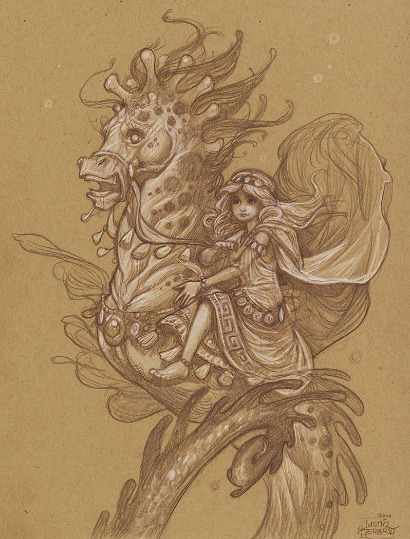 AWOL 2013: Seahorse Study No. 1