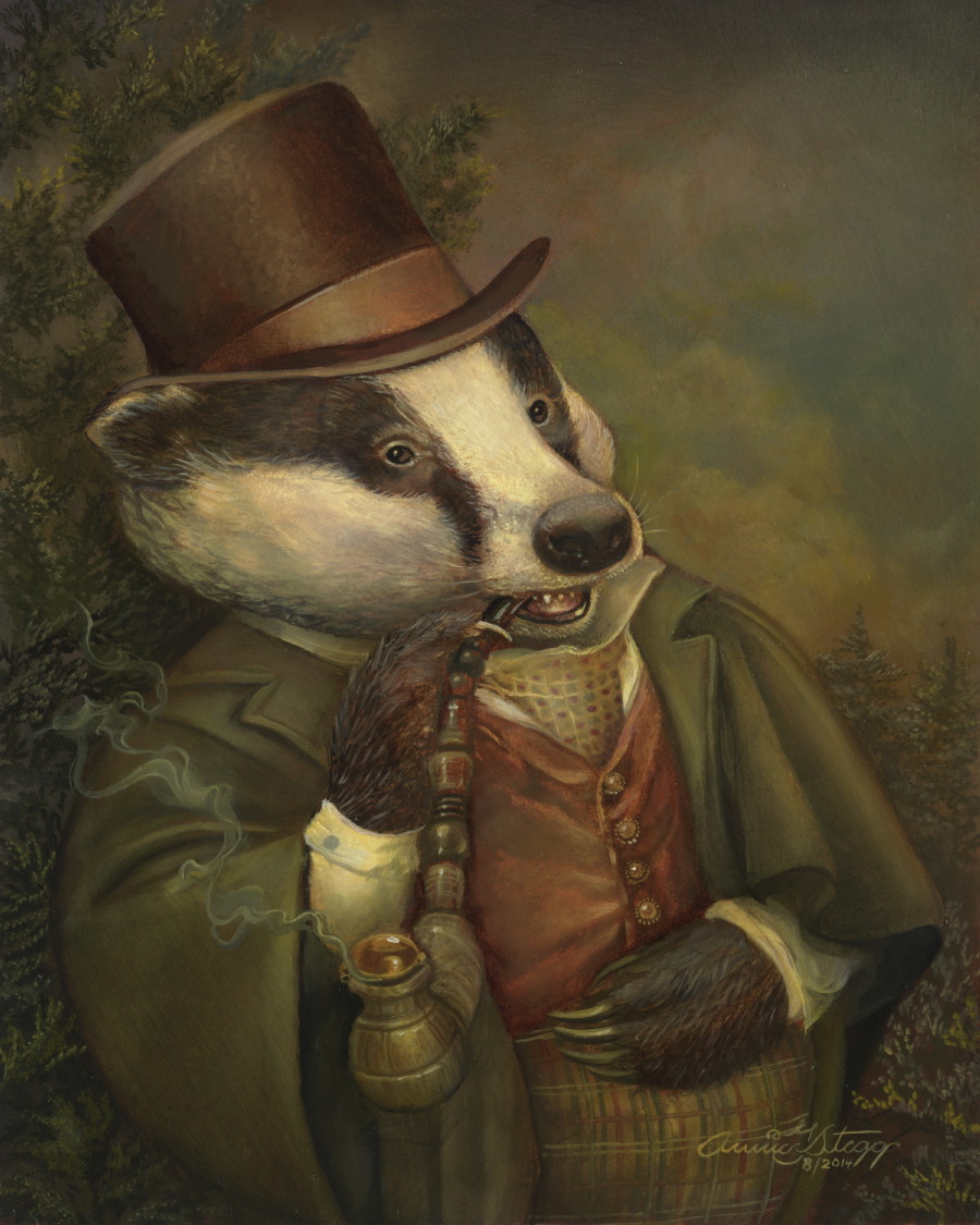 """Bancroft the Badger"""