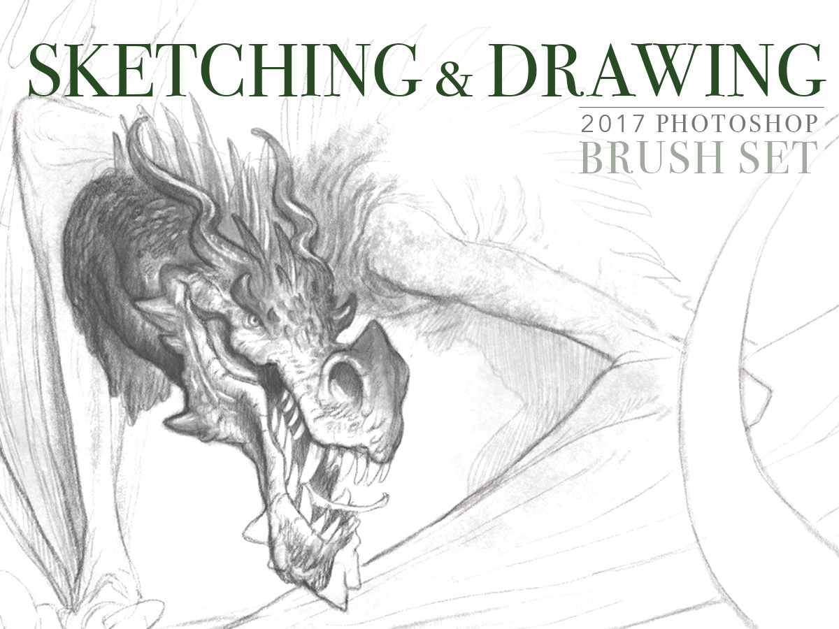 Photoshop brush set sketching and drawing gallery gerard