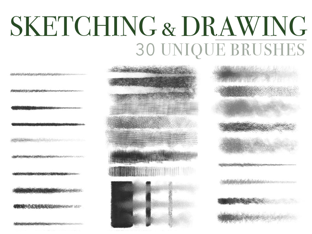 Photoshop Brush Set Vol I Bundle Gallery Gerard