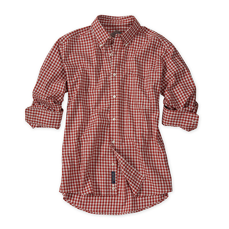 Heathered Gingham Shirt