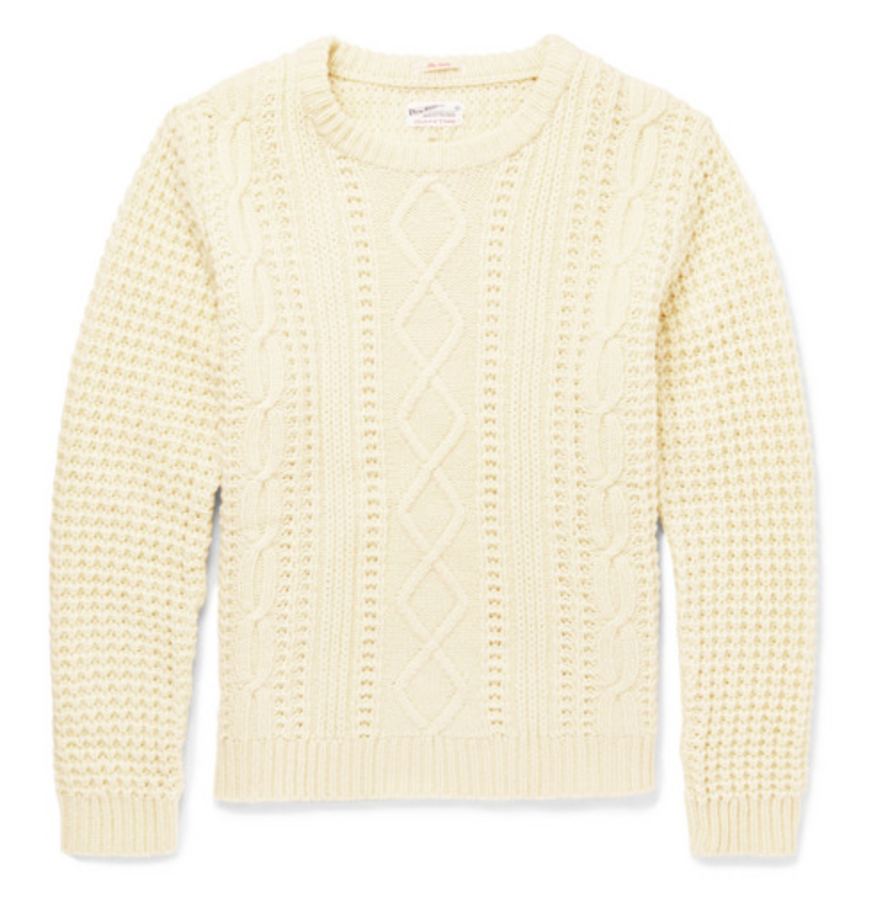 Gant Rugger Cable Knit Sweater