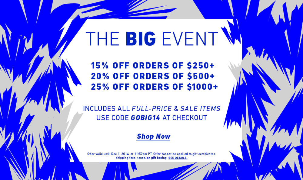 east dane big sales event