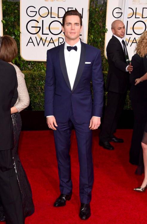 Matt Bomer Ralph Lauren Golden Globes