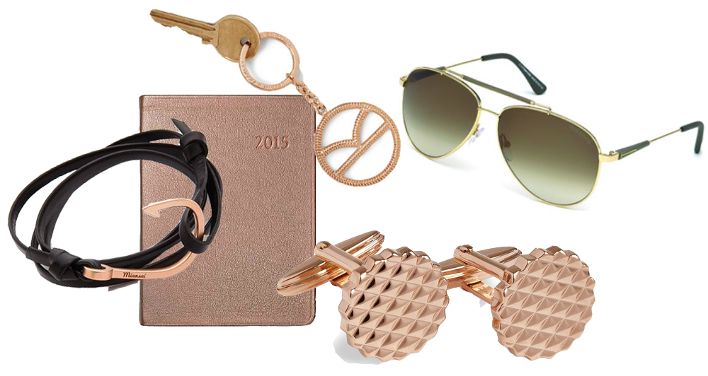 Rose Gold Men Accessories