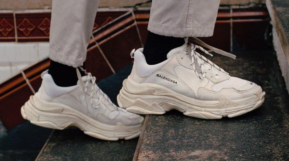 dad style sneaker balenciaga